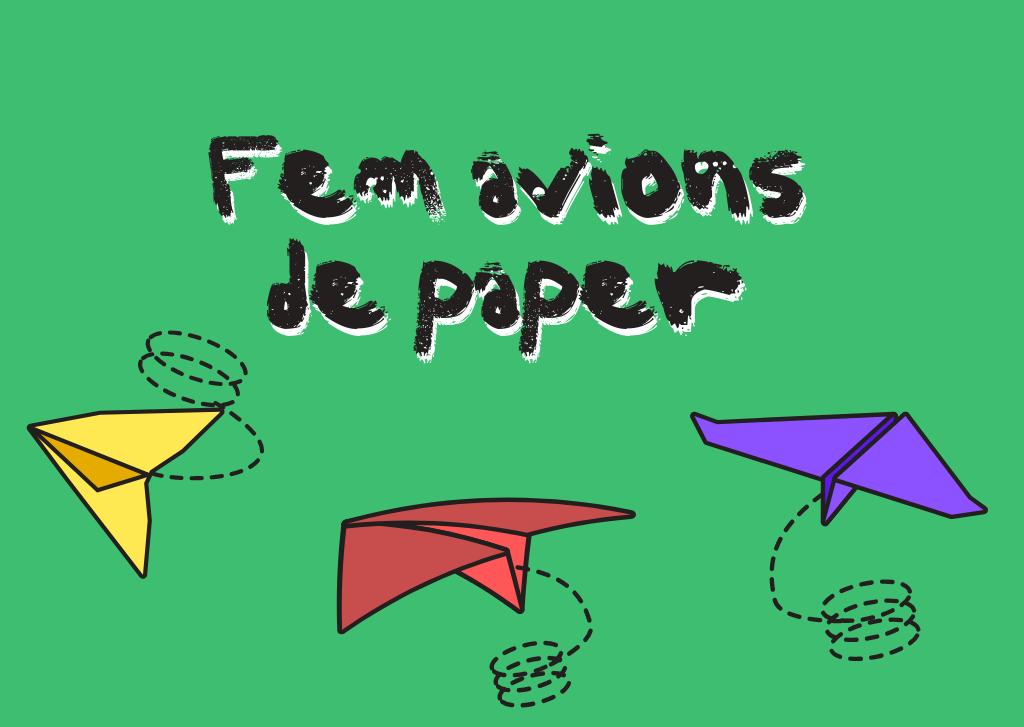 Com fer avions de paper