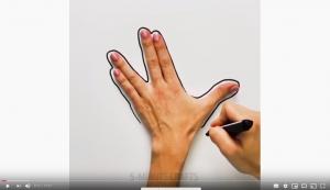 dibuixos mans