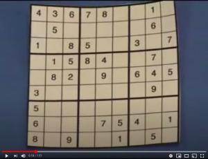 tutorial sudoku
